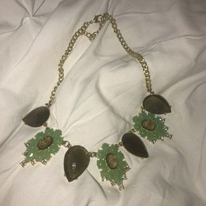 Francesca's collections bold statement necklace